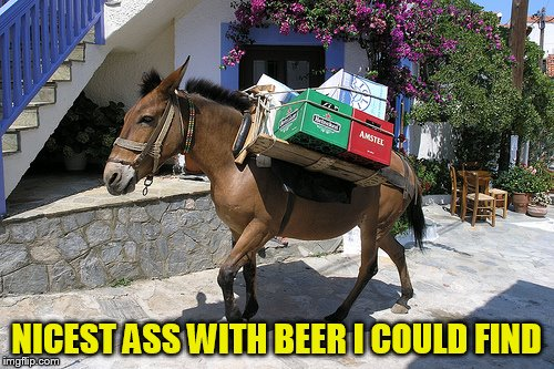 NICEST ASS WITH BEER I COULD FIND | made w/ Imgflip meme maker