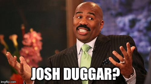Steve Harvey Meme | JOSH DUGGAR? | image tagged in memes,steve harvey | made w/ Imgflip meme maker