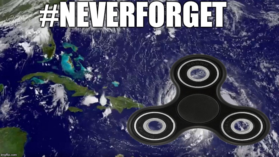 Fidget cane | #NEVERFORGET | image tagged in memes,hurricane irma | made w/ Imgflip meme maker