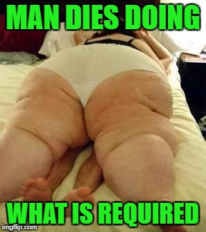 MAN DIES DOING WHAT IS REQUIRED | made w/ Imgflip meme maker