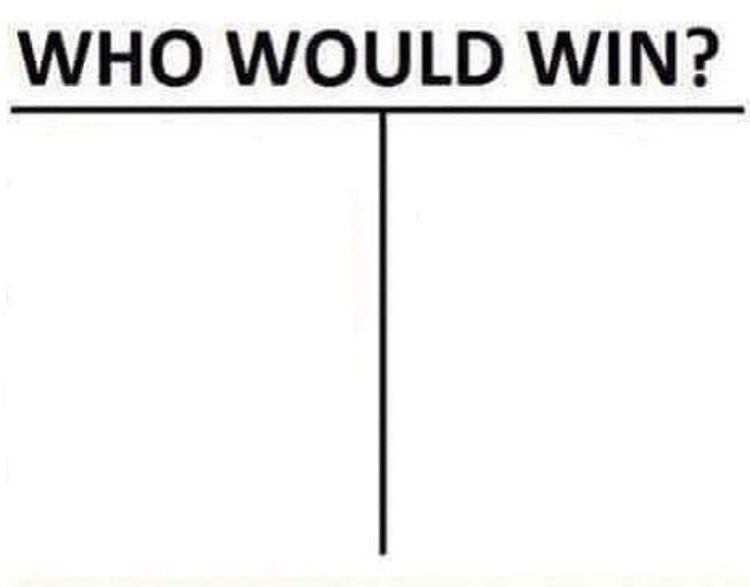 who would win Template