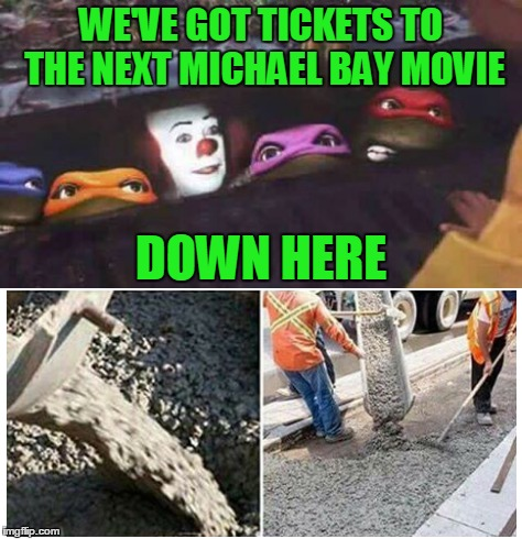 "Be ""penny wise"" by not spending your money on Michael Bay movies. 