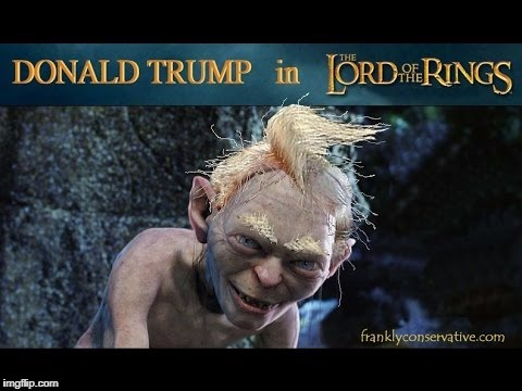 image tagged in trump as gollum | made w/ Imgflip meme maker