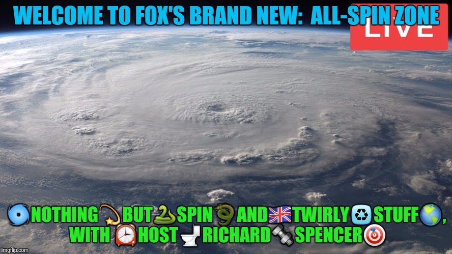 WELCOME TO FOX'S BRAND NEW:  ALL-SPIN ZONE  | made w/ Imgflip meme maker