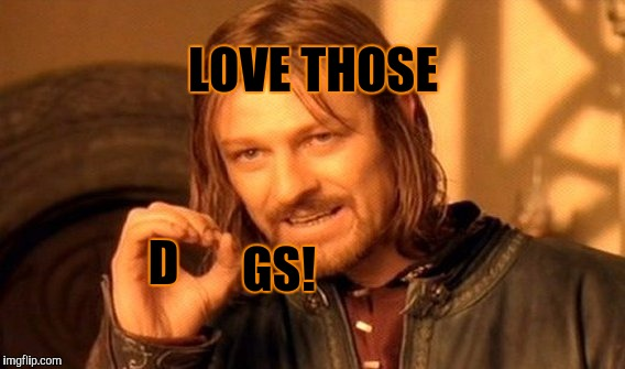 One Does Not Simply Meme | LOVE THOSE D GS! | image tagged in memes,one does not simply | made w/ Imgflip meme maker