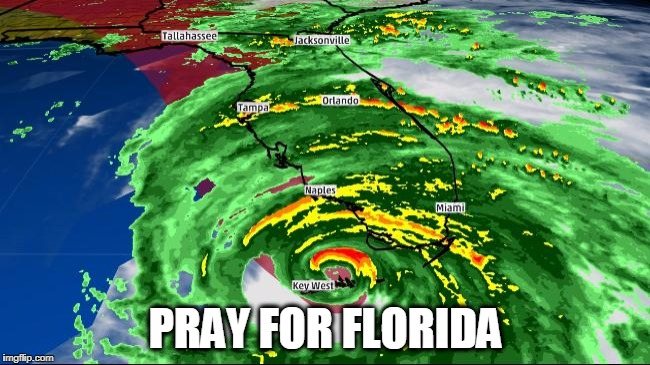 It's gotta get out in the gulf and weaken! | PRAY FOR FLORIDA | image tagged in hurricane irma,meanwhile in florida,florida | made w/ Imgflip meme maker