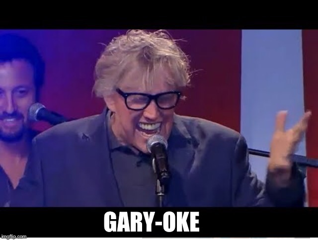 "His signature song is ""Crazy"" by Gnarles Barkley 