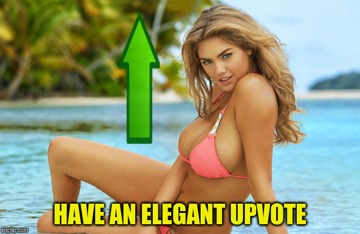HAVE AN ELEGANT UPVOTE | made w/ Imgflip meme maker
