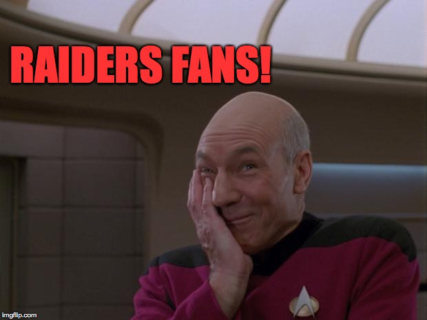 RAIDERS FANS! | made w/ Imgflip meme maker