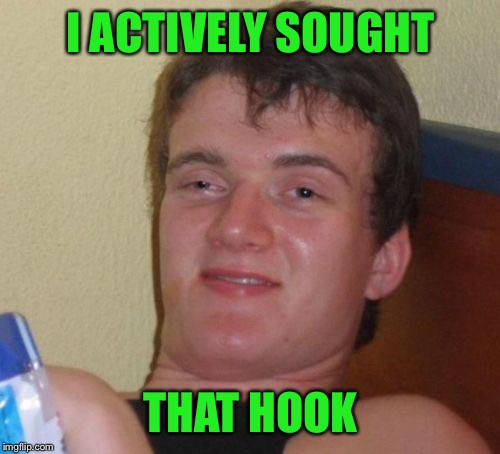 10 Guy Meme | I ACTIVELY SOUGHT THAT HOOK | image tagged in memes,10 guy | made w/ Imgflip meme maker
