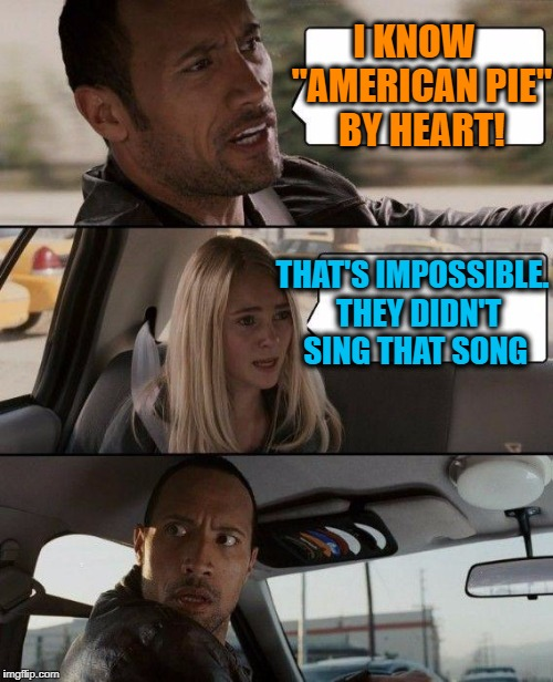 """Barracuda""? Yes!  ""American Pie""? No! 