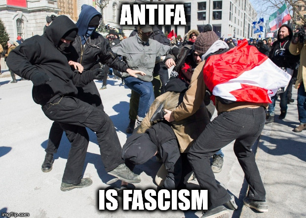ANTIFA IS FASCISM | made w/ Imgflip meme maker