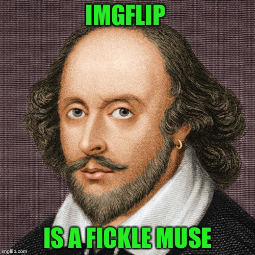 IMGFLIP IS A FICKLE MUSE | made w/ Imgflip meme maker