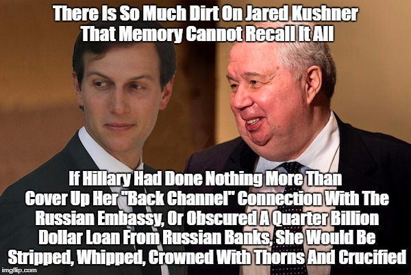 """Why Is Jared Kushner Still In The White House?"" 