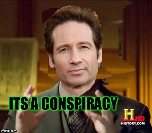 Fox Aliens | ITS A CONSPIRACY | image tagged in fox aliens | made w/ Imgflip meme maker