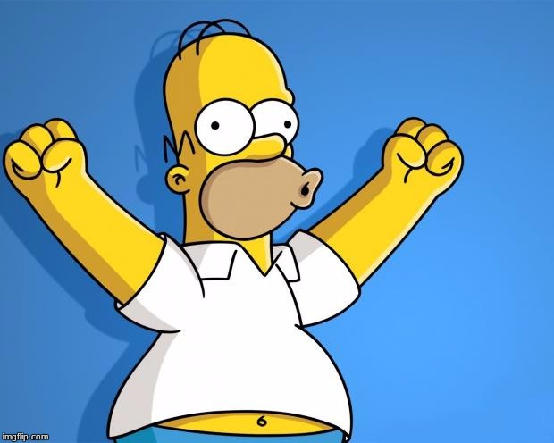 Woohoo Homer Simpson | image tagged in woohoo homer simpson | made w/ Imgflip meme maker