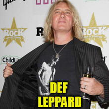 DEF LEPPARD | made w/ Imgflip meme maker