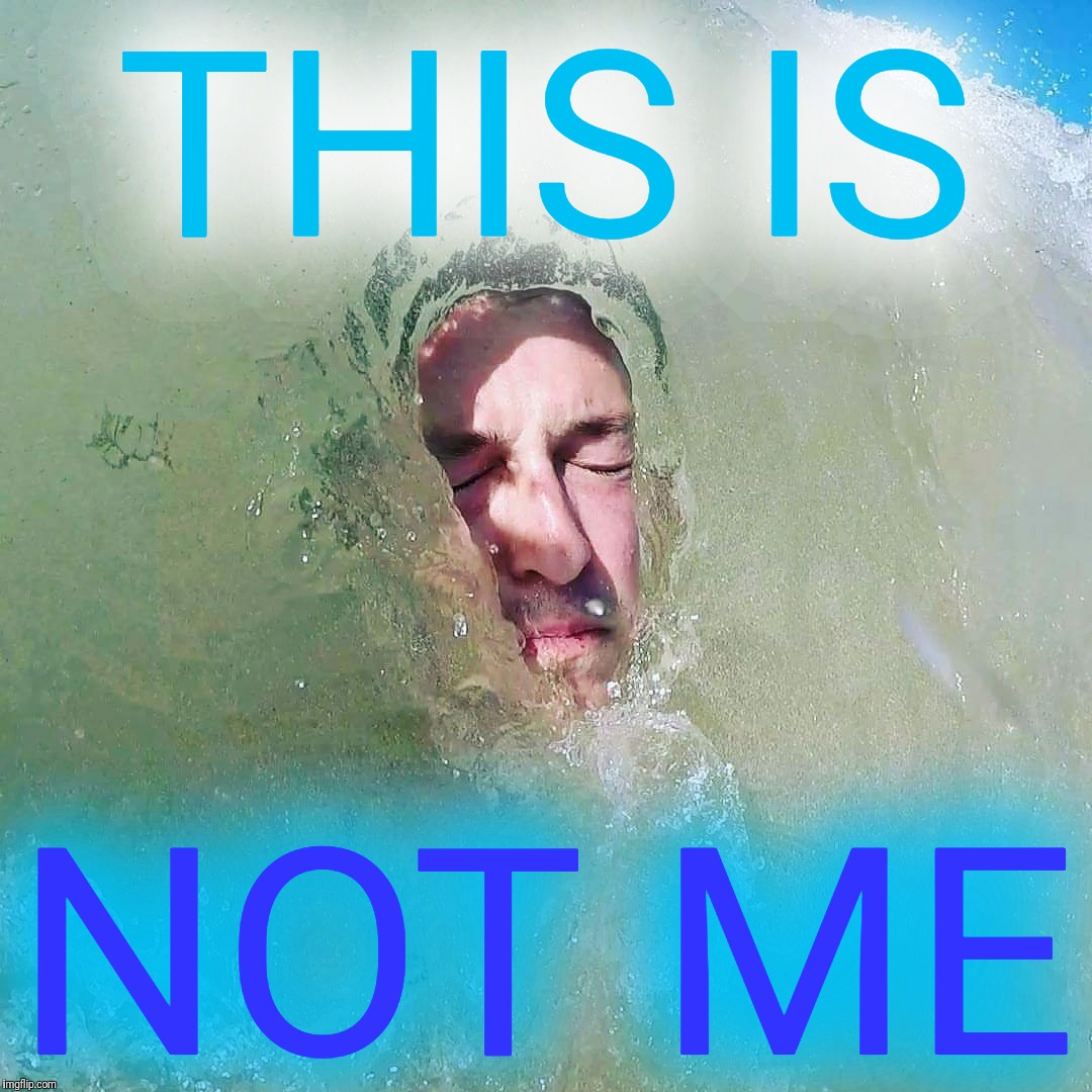 THIS IS NOT ME | made w/ Imgflip meme maker