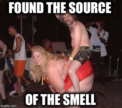 FOUND THE SOURCE OF THE SMELL | made w/ Imgflip meme maker