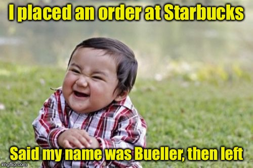 "If you don't get it, watch ""Ferris Bueller's Day Off"" 
