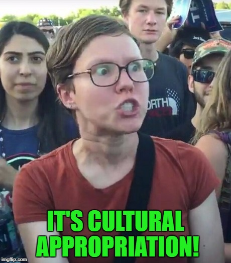 IT'S CULTURAL APPROPRIATION! | made w/ Imgflip meme maker