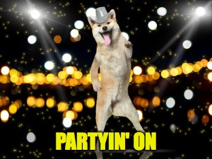 PARTYIN' ON | made w/ Imgflip meme maker