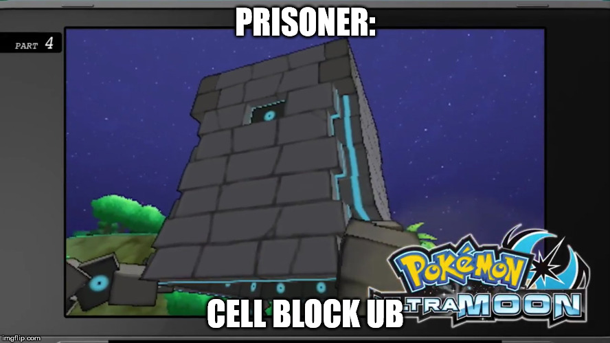 Prisoner: Cell Block H has it's own Alolan counterpart. | PRISONER: CELL BLOCK UB | image tagged in prisoner cell block h,wentworth,pokmon,pokmon sun and moon,pokmon ultra sun and ultra moon | made w/ Imgflip meme maker
