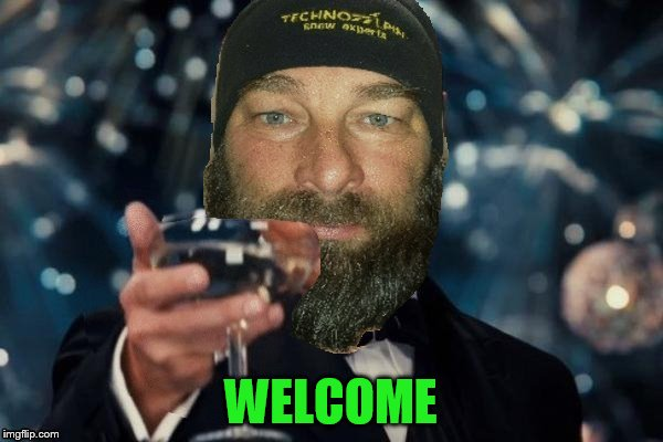 WELCOME | made w/ Imgflip meme maker