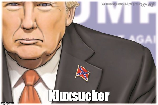 """Kluxsucker"" (Caption Mine, Not Bennett's) 