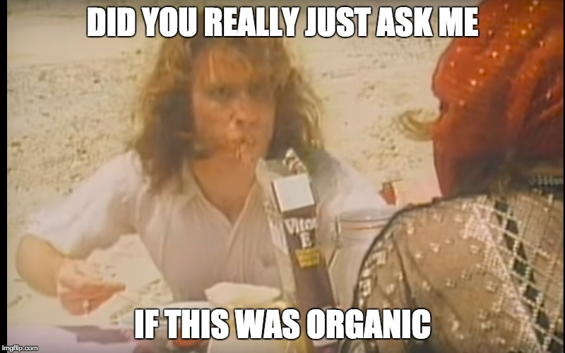 Hippie harry | DID YOU REALLY JUST ASK ME IF THIS WAS ORGANIC | image tagged in funny meme,did you just assume my gender | made w/ Imgflip meme maker