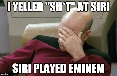 "Even A.I. has good taste in music | I YELLED ""SH*T"" AT SIRI SIRI PLAYED EMINEM 