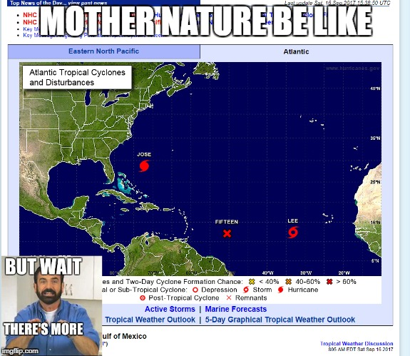 "Mother Nature be like ""but wait there's more 
