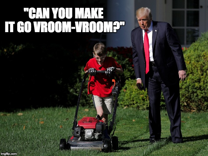 "Vroom | ""CAN YOU MAKE IT GO VROOM-VROOM?"" 