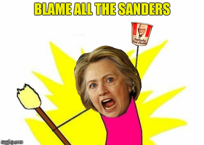 BLAME ALL THE SANDERS | made w/ Imgflip meme maker