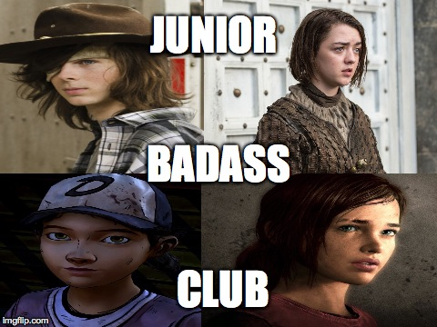 Junior Badass Club | JUNIOR CLUB BADASS | image tagged in humor | made w/ Imgflip meme maker