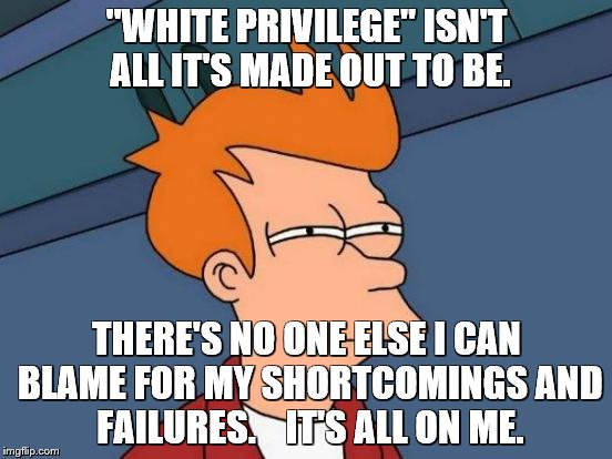 "Fry on ""white privilege"" 