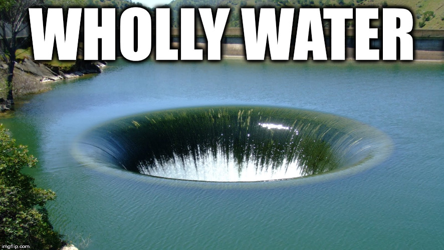 WHOLLY WATER | made w/ Imgflip meme maker