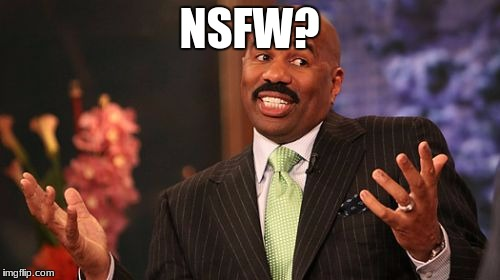 Steve Harvey Meme | NSFW? | image tagged in memes,steve harvey | made w/ Imgflip meme maker