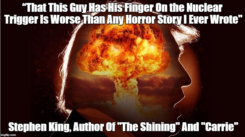 """Stephen King's Horrifying Comment About Donald Trump"" 
