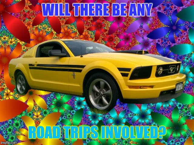WILL THERE BE ANY ROAD TRIPS INVOLVED? | made w/ Imgflip meme maker