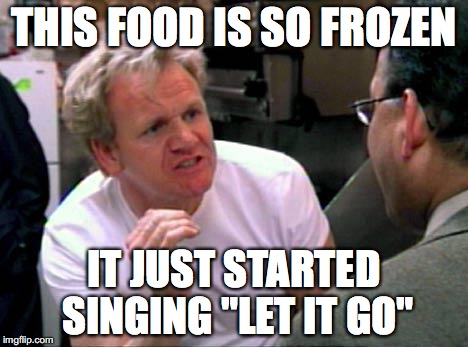 "Let it go! | THIS FOOD IS SO FROZEN IT JUST STARTED SINGING ""LET IT GO"" 