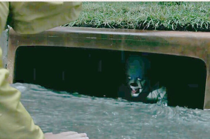 Pennywise In Sewer Blank Template Imgflip
