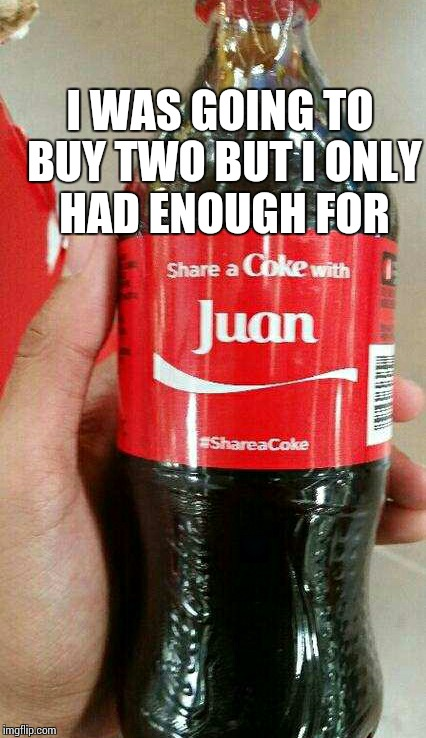 I tried. | I WAS GOING TO BUY TWO BUT I ONLY HAD ENOUGH FOR | image tagged in sir_unknown,dank memes,juan | made w/ Imgflip meme maker