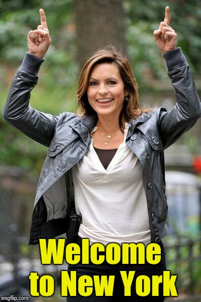 Olivia Benson | Welcome to New York | image tagged in olivia benson | made w/ Imgflip meme maker