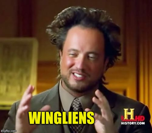 Ancient Aliens Meme | WINGLIENS | image tagged in memes,ancient aliens | made w/ Imgflip meme maker