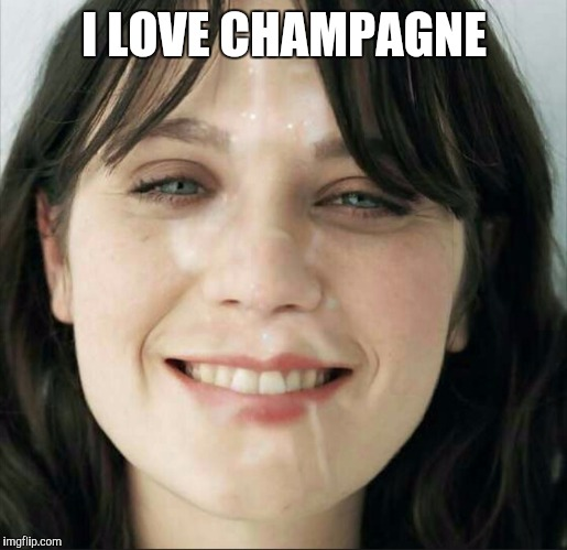 I LOVE CHAMPAGNE | made w/ Imgflip meme maker