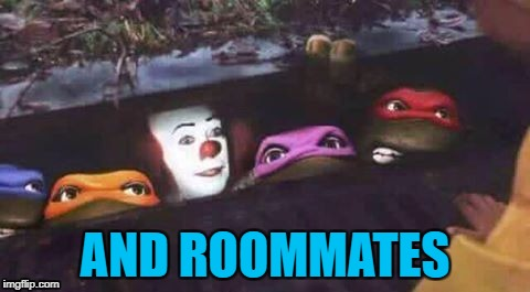AND ROOMMATES | made w/ Imgflip meme maker