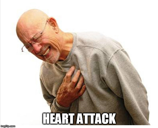 HEART ATTACK | made w/ Imgflip meme maker