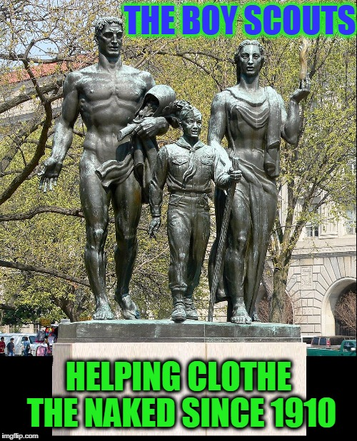 "Besides themselves Boy Scouts teach others to ""Be Prepared"" 