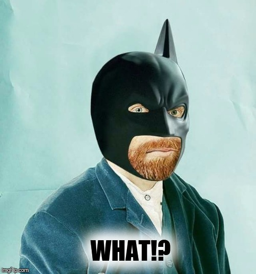 Could u repeat that please? | WHAT!? | image tagged in what,vincent van gogh,batman | made w/ Imgflip meme maker